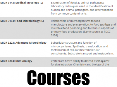 courses 1